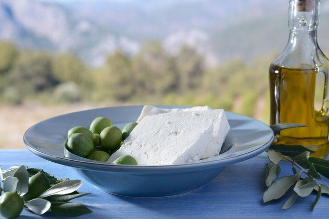 Греция водной тарелке